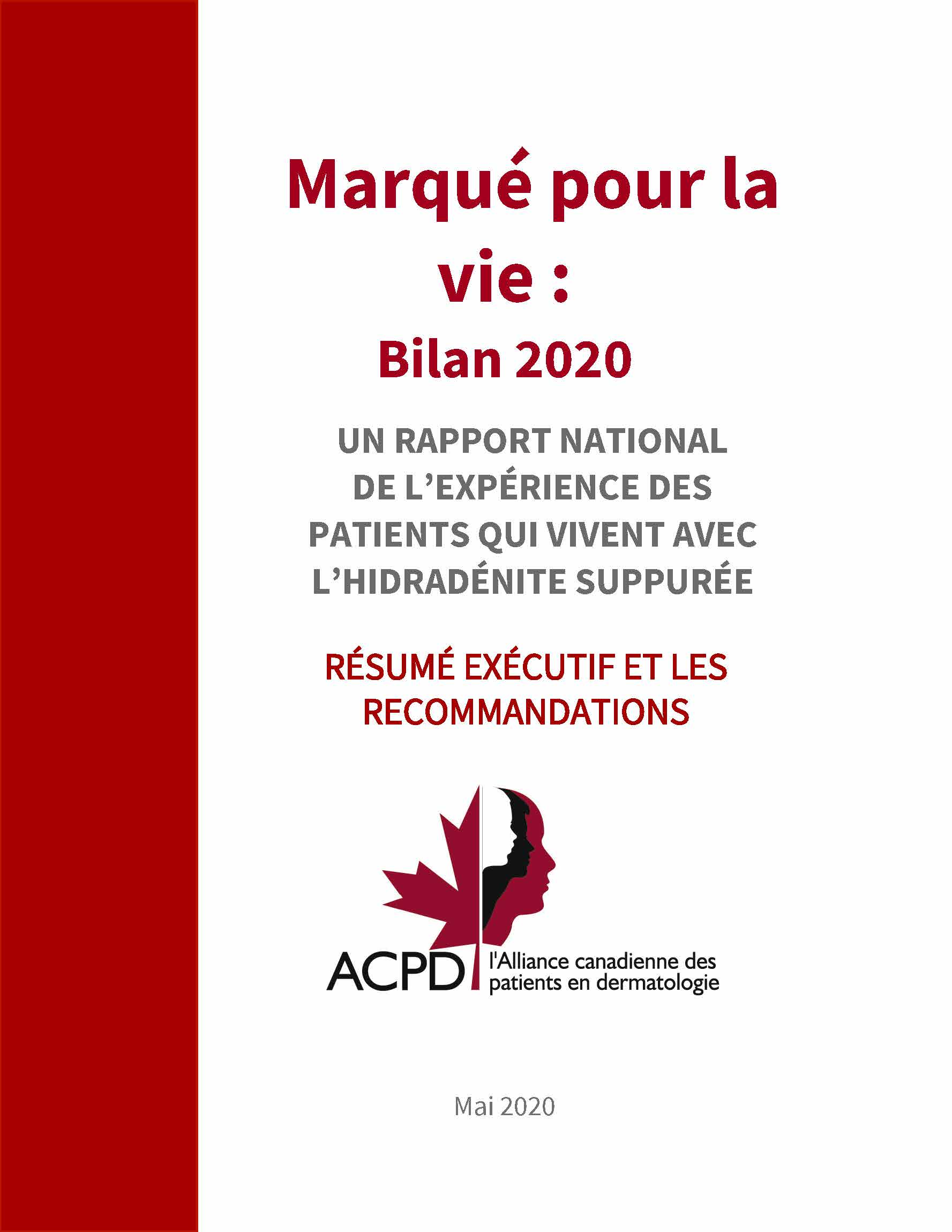 report cover french